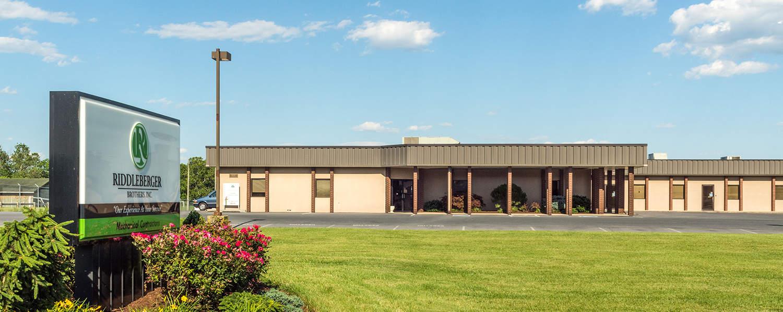 Riddleberger Brothers Inc. RBI portfolio investment exterior building